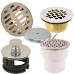 drains, cleanouts & accessories