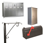 mailboxes & postal accessories