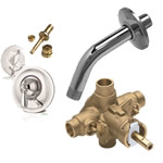 bathtub & shower repair parts