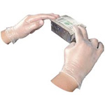disposable vinyl powdered gloves