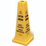 wet floor signs & cones