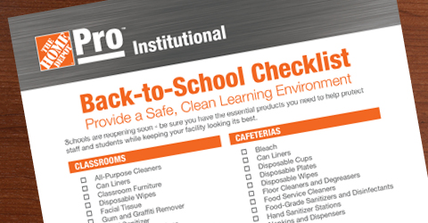 Download Our Back-to-School Checklist