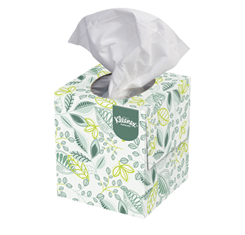 Kleenex Naturals Boutique Facial Tissue Upright Box