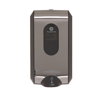 enMotion Gen2 Automated Touchless Soap and Sanitizer Dispenser in Brushed Stainless