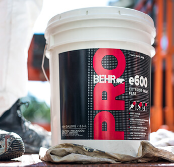 5-Gallon Bucket of BEHR PRO e600 Exterior Paint