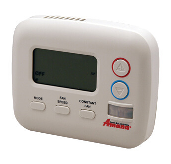 White Amana remote thermostat for PTAC units